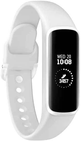 Смарт-часы SAMSUNG Galaxy Fit-e белый (SM-R375NZWASER) - фото 1