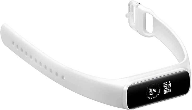Смарт-часы SAMSUNG Galaxy Fit-e белый (SM-R375NZWASER) - фото 4