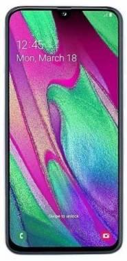 Смартфон Samsung Galaxy A40 SM-A405F 64ГБ белый (SM-A405FZWGSER)