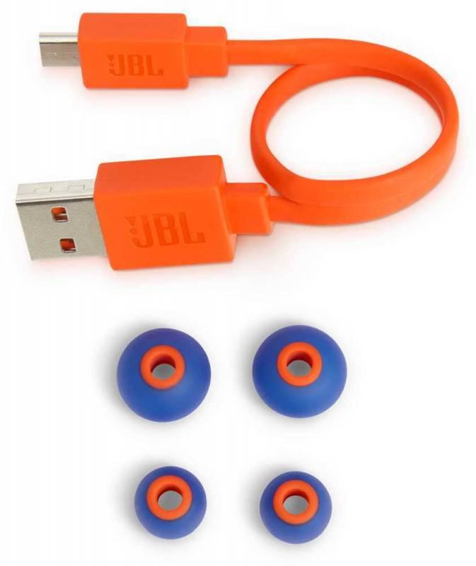 Колонка портативная JBL Charge 4 + наушники JBLT110BTBLU черный - фото 13