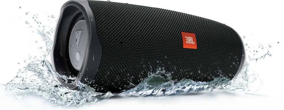 Колонка портативная JBL Charge 4 + наушники JBLT110BTBLU черный - фото 14