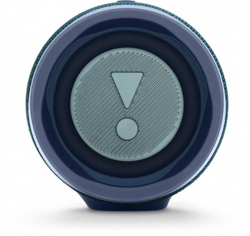 Колонка портативная JBL Charge 4 + наушники JBLT110BTBLU синий - фото 4