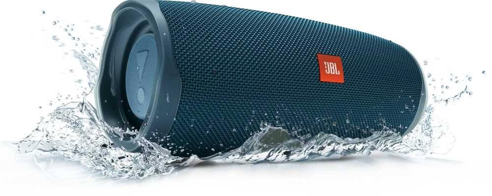 Колонка портативная JBL Charge 4 + наушники JBLT110BTBLU синий - фото 14