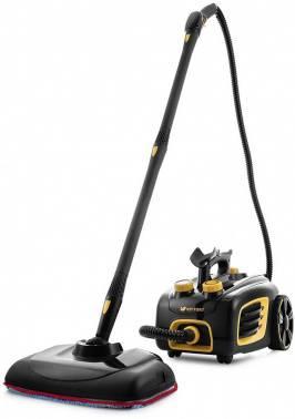 Пароочиститель ручной Kitfort КТ-932 черный/оранжевый