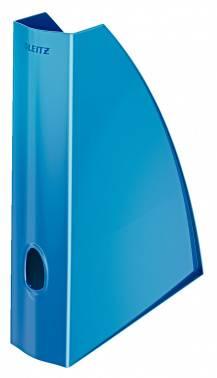 Лоток вертикальный Esselte Leitz WOW синий металлик (52771036)
