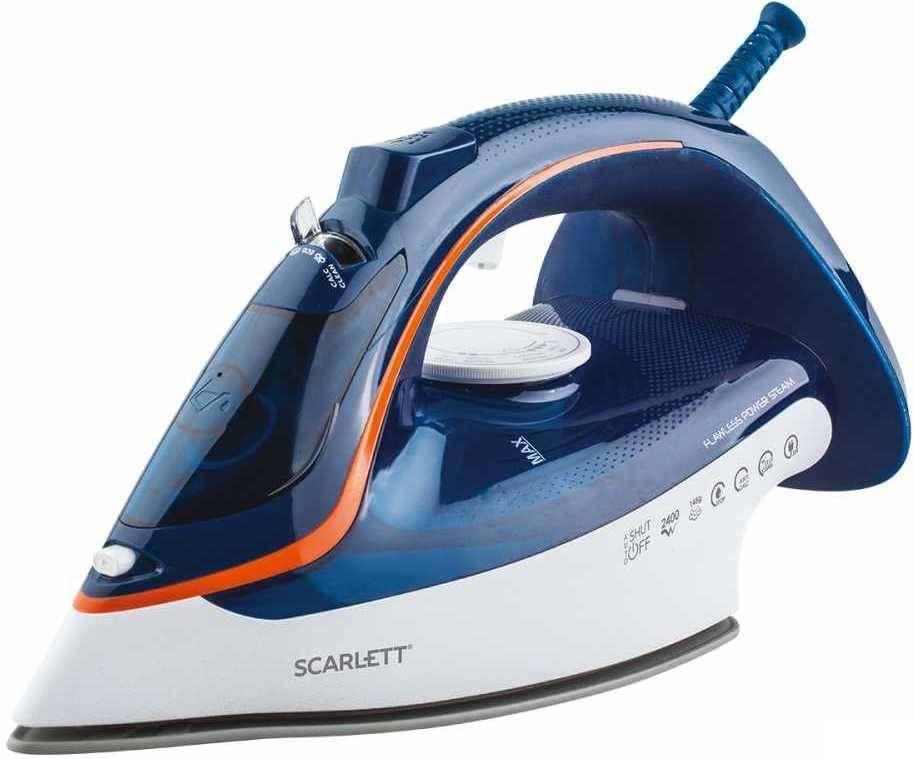 Утюг Scarlett SC-SI30K35 синий - фото 1