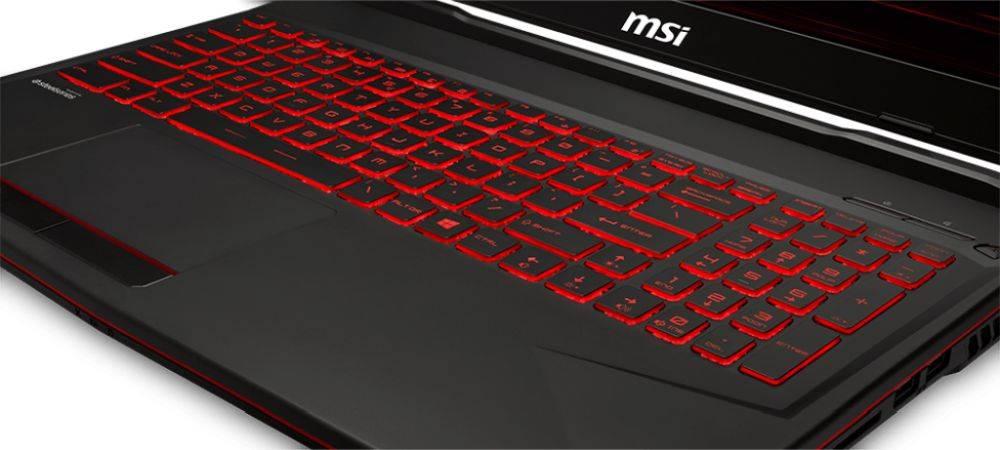 "Ноутбук 15.6"" MSI GL63 8SDK-482RU черный (9S7-16P732-482) - фото 5"
