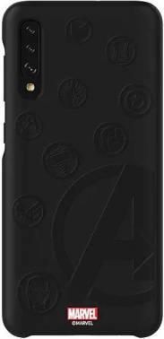 Чехол Samsung Marvel Case Avengers4, для Samsung Galaxy A50, черный (GP-FGA505HIBJW)