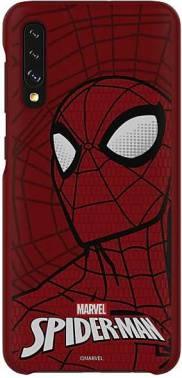 Чехол Samsung Marvel Case Spider-Man, для Samsung Galaxy A50, красный (GP-FGA505HIBRW)