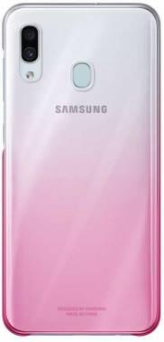 Чехол Samsung Gradation Cover, для Samsung Galaxy A30, розовый (EF-AA305CPEGRU)