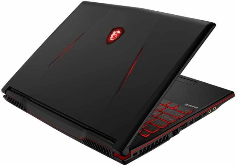 """Ноутбук 15.6"""" MSI GL63 8SC-006RU черный (9S7-16P812-006) - фото 3"""