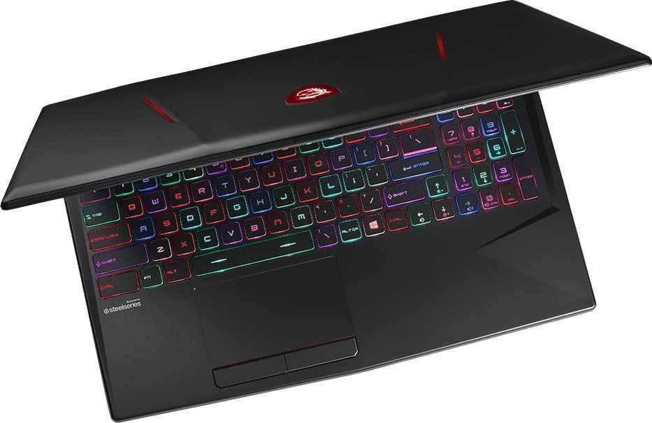 """Ноутбук 15.6"""" MSI GL63 8SC-006RU черный (9S7-16P812-006) - фото 5"""