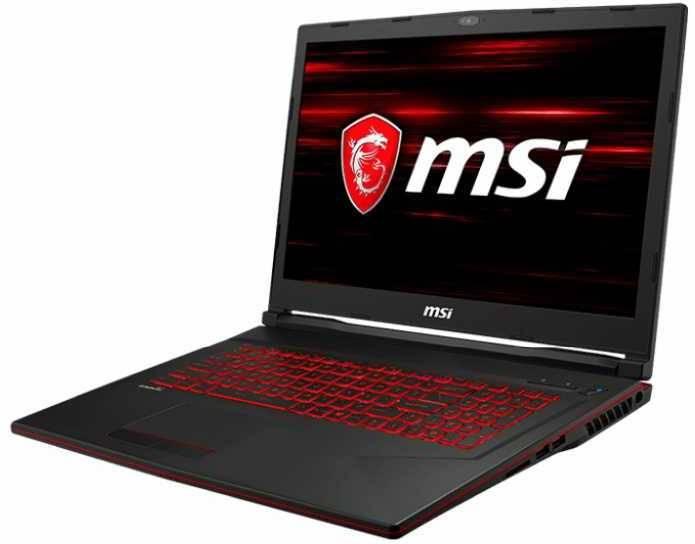 "Ноутбук 17.3"" MSI GL73 8SDK-200XRU черный (9S7-17C722-200) - фото 2"