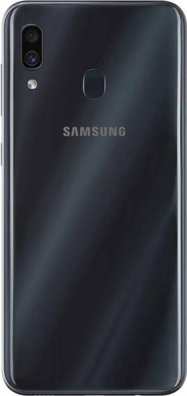 Смартфон Samsung Galaxy A30 SM-A305F 64ГБ черный (SM-A305FZKOSER) - фото 2