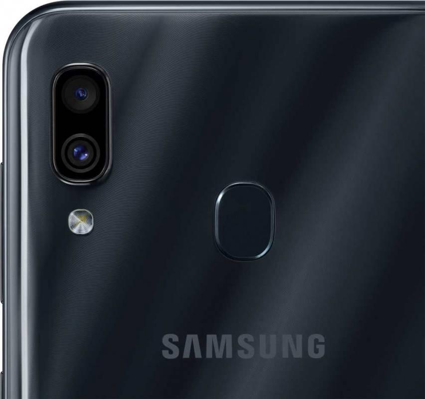 Смартфон Samsung Galaxy A30 SM-A305F 64ГБ черный (SM-A305FZKOSER) - фото 9