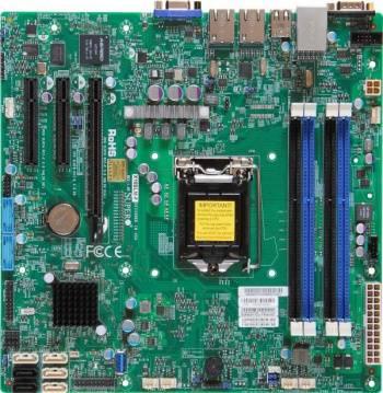 Серверная материнская плата Soc-1150 SuperMicro MBD-X10SLM-F-O mATX