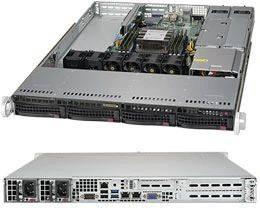 Корпус SuperMicro CSE-815TQC-R504WB 2 x 500 Вт черный (CSE-815TQC-R504WB)