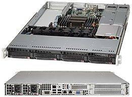 Корпус SuperMicro CSE-815TQ-R706WB 2 x 750 Вт черный (CSE-815TQ-R706WB)
