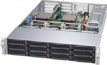 Корпус SuperMicro CSE-826BAC4-R1K23WB 2 x 1200 Вт черный (CSE-826BAC4-R1K23WB)