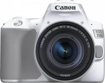 Фотоаппарат Canon EOS 250D белый, 1 объектив (3458C001)
