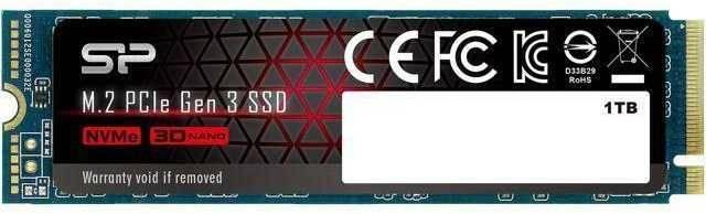 Накопитель SSD 1Tb Silicon Power M-Series SP001TBP34A80M28 PCI-E x4 - фото 1