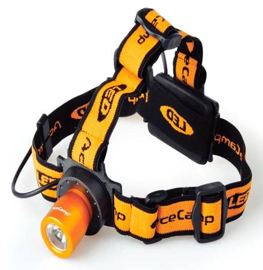 Налобный фонарь AceCamp Back light оранжевый (1019) - фото 1