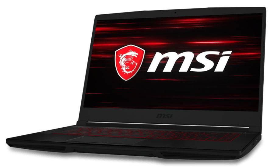 "Ноутбук 15.6"" MSI GF63 8RC-621RU черный (9S7-16R112-621) - фото 1"