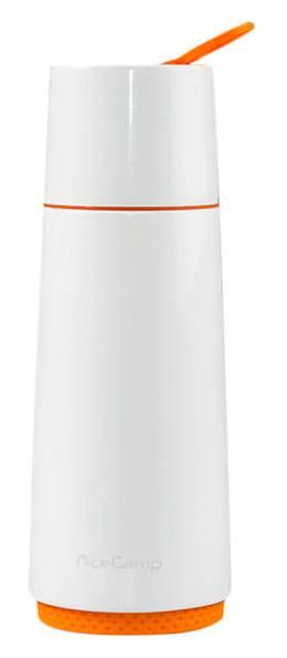 Термос AceCamp vacuum bottle белый (1504) - фото 1