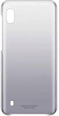 Чехол Samsung Gradation Cover, для Samsung Galaxy A10, черный (EF-AA105CBEGRU)