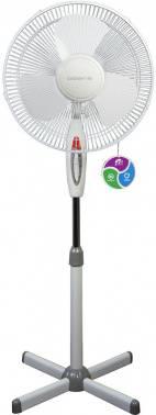 Вентилятор напольный Polaris PSF 40E белый/серый