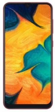 Смартфон Samsung Galaxy A30 SM-A305F 64ГБ красный (SM-A305FZROSER)