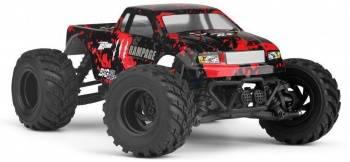 Машина радиоуправляемая HBX Rampage пластик/металл красный/черный (HBX-18859E)
