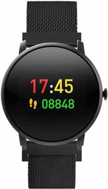 Смарт-часы KREZ Jazz черный (SW14)