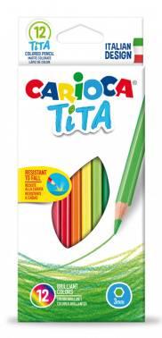 Карандаши цветные Carioca Tita (42793)