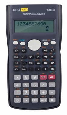 Калькулятор научный Deli ED82MS темно-синий