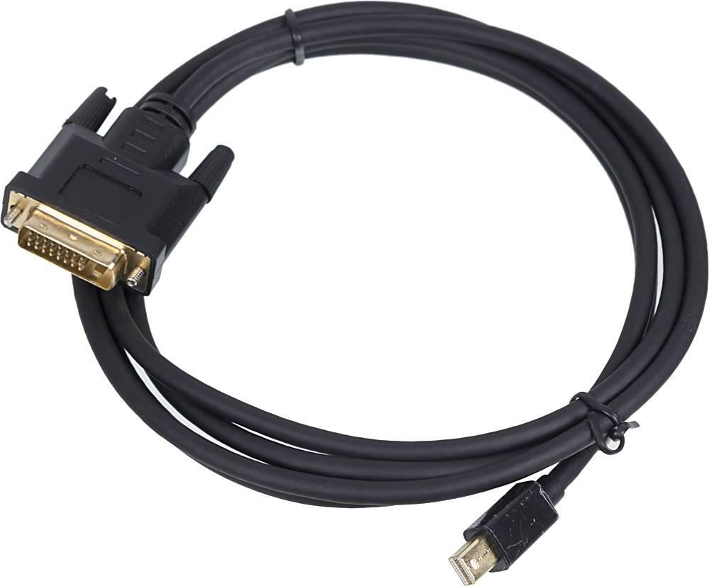 Кабель 1.1v miniDisplayPort (m)/DVI (m) 2м. - фото 1