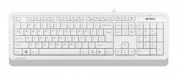 Клавиатура A4Tech Fstyler FK10 белый/серый (fk10 white)
