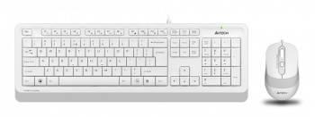 Комплект клавиатура+мышь A4Tech Fstyler F1010 белый/белый (f1010 white)