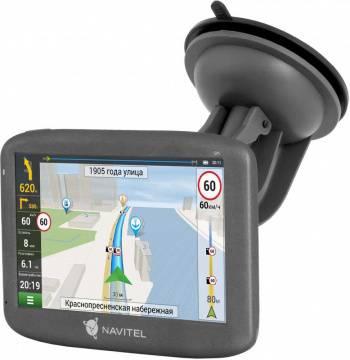 "GPS-навигатор Navitel E505 Magnetic 5"" черный"