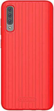 Чехол Samsung araree Airdome, для Samsung Galaxy A70, красный (GP-FPA705KDBRR)