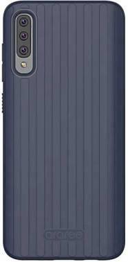 Чехол Samsung araree Airdome, для Samsung Galaxy A70, синий (GP-FPA705KDBLR)