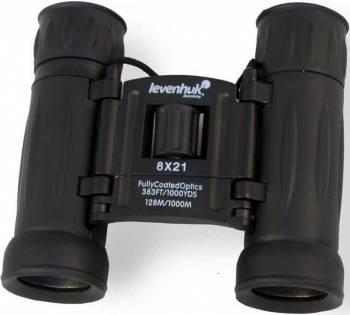 Бинокль Levenhuk Atom 8x21 черный, 8 - 8x (67675)