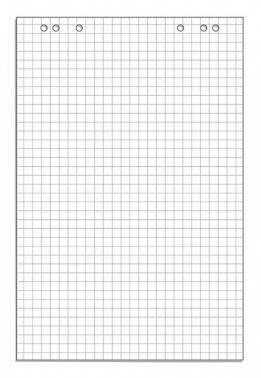 Блок бумаги для флипчартов 445517