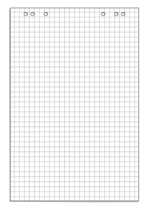 Блок бумаги для флипчартов 445526 - фото 1