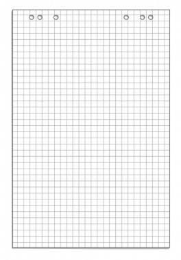 Блок бумаги для флипчартов 445526