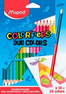 Карандаши цветные Maped Color`Peps 18цв. (829601)