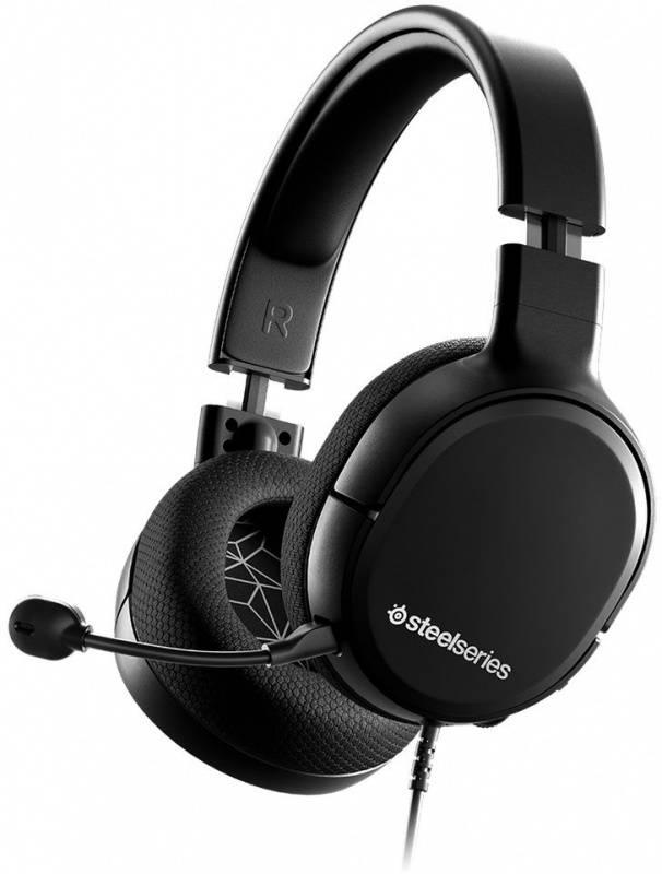 Наушники с микрофоном Steelseries Arctis 1 черный (61427) - фото 1