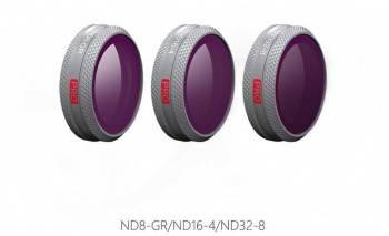 Набор фильтров для квадрокоптера Pgytech ND128 256 1000 (P-HA-044)