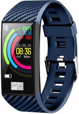 Смарт-браслет Smarterra Fitmaster Pulsar IPS синий/синий