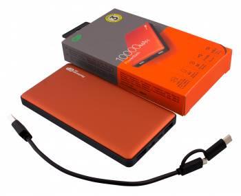 Мобильный аккумулятор GP Portable PowerBank MP10 оранжевый (MP10MAO)